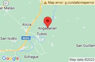 Map of Gaddang, Angadanan Isabela
