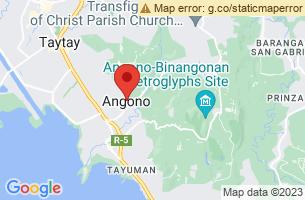 Map of Higantes Festival, Angono Rizal