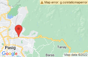 Map of Antipolo City, Antipolo City Rizal