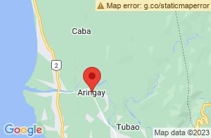 Map of Aringay, Aringay La Union