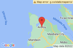 Map of Aroroy, Aroroy Masbate