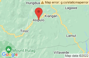 Map of Asipulo, Asipulo Ifugao
