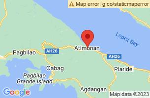 Map of Atimonan, Atimonan Quezon
