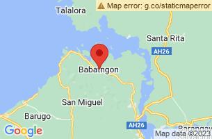 Map of Babatngon, Babatngon Leyte