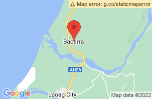 Map of Bacarra, Bacarra Ilocos Norte