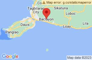 Map of Baclayon, Baclayon Bohol