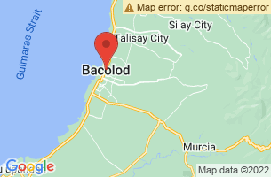 Map of Bacolod City, Bacolod City Negros Occidental