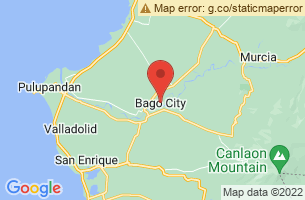 Map of Bago City, Bago City Negros Occidental