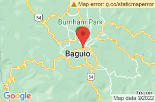 Map of Burnham Park, Baguio City Benguet