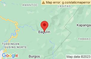 Map of Bagulin, Bagulin La Union