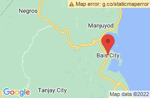 Map of Bais City, Bais City Negros Oriental