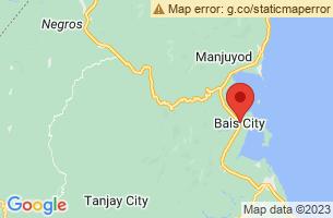 Map of Bais Bay Dolphin Watching and Manjuyod SandBar, Bais City Negros Oriental