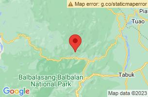 Map of Balbalan, Balbalan Kalinga