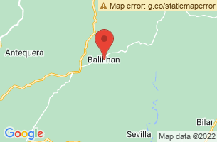 Map of Kawasan Falls Bohol, Balilihan Bohol