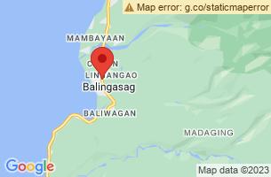 Map of Balingasag, Balingasag Misamis Oriental