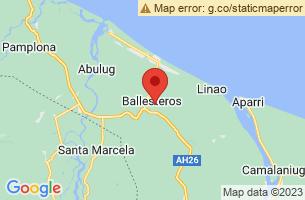 Map of Ballesteros, Ballesteros Cagayan