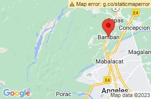 Map of Bamban, Bamban Tarlac
