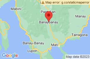 Map of Burias Islet Sanctuary, Banaybanay Davao Oriental