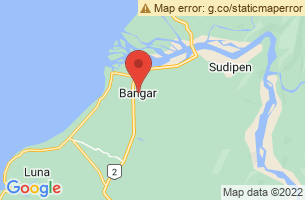 Map of Bangar, Bangar La Union