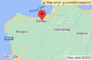 Map of Bangui, Bangui Ilocos Norte