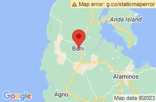 Map of Bani, Bani Pangasinan
