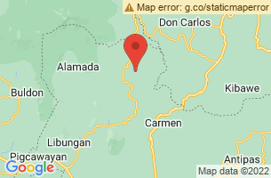 Map of Banisilan, Banisilan Cotabato