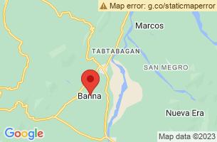 Map of Banna, Banna Ilocos Norte