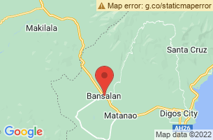 Map of Bansalan, Bansalan Davao del Sur