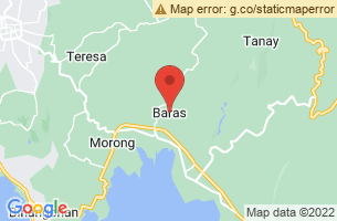 Map of Puraran Beach, Baras Catanduanes