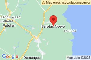 Map of Barotac Nuevo, Barotac Nuevo Iloilo