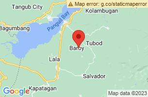 Map of Baroy, Baroy Lanao del Norte