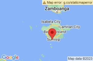 Map of Basilan,
