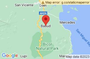 Map of Mangcamagong Beach, Basud Camarines Norte