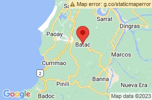 Map of Batac City, Batac City Ilocos Norte