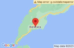 Map of Ursula Island Bird Sanctuary, Bataraza Palawan