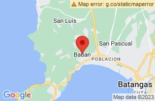 Map of Bauan, Bauan Batangas