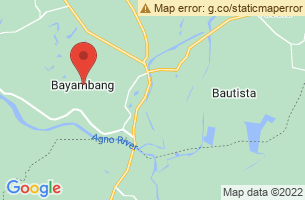 Map of Bayambang, Bayambang Pangasinan