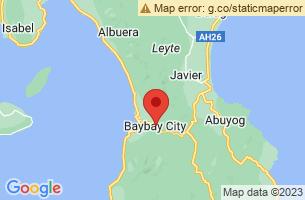 Map of Baybay City, Baybay City Leyte