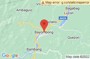 Map of Ammungan Festival, Bayombong Nueva Vizcaya
