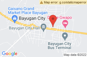 Map of Bayugan City, Bayugan City Agusan del Sur