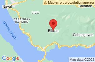 Map of Biliran,