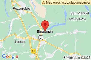 Map of Binalonan, Binalonan Pangasinan