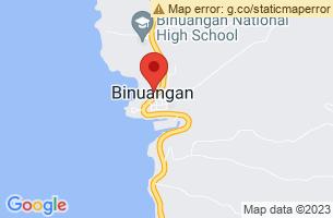 Map of Binuangan, Binuangan Misamis Oriental