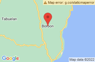 Map of Borbon, Borbon Cebu