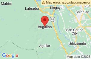 Map of Bugallon, Bugallon Pangasinan