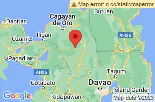 Map of Bukidnon,