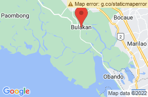 Map of Bulacan,