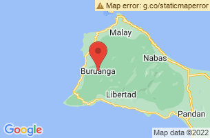 Map of Buruanga, Buruanga Aklan