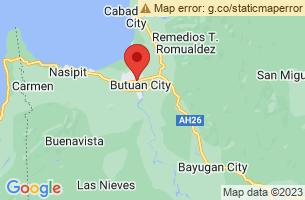 Map of Mount Mayapay, Butuan City Agusan del Norte