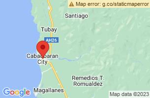 Map of Cabadbaran City, Cabadbaran City Agusan del Norte